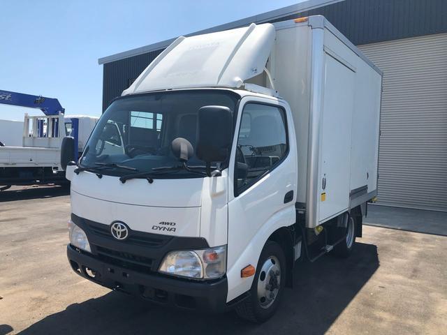 トヨタ 2t積 冷蔵冷凍車-30℃設定 4WD