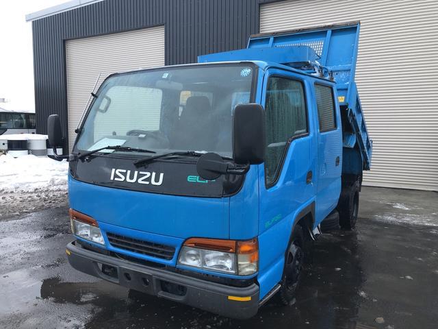 いすゞ エルフトラック 2tWキャブ ダンプ 低床 5MT