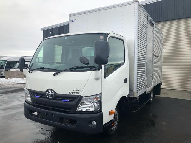 トヨタ ダイナトラック 2t積 ワイドロング箱車 4WD 4000D-tb