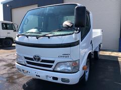 ダイナトラック1t平ボデー4WD垂直式パワーゲート
