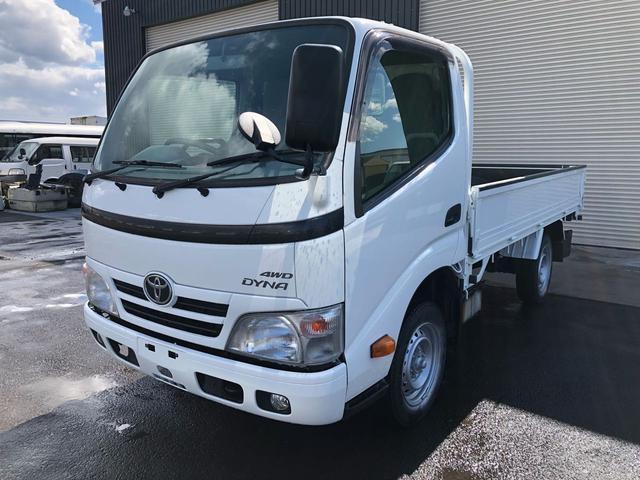 トヨタ ダイナトラック 1.25tシングルジャストロー 4WD 全塗装済