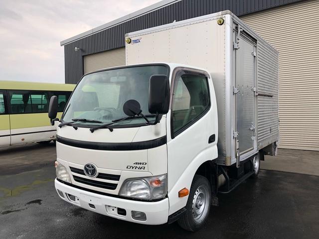 トヨタ ダイナトラック 500kg積箱車 新明和製Pゲート 4WD 3000d-tb