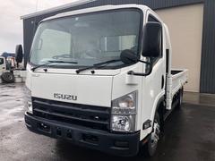エルフトラック2t積 拡幅ワイドロング平ボディー 4WD 5MT