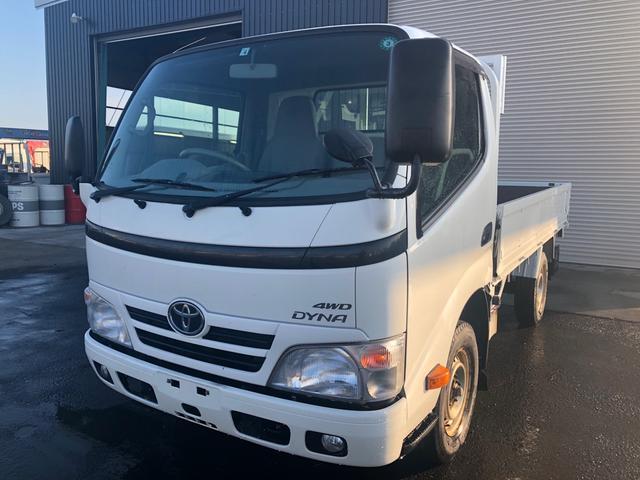 トヨタ 1.35t積ロング平ボディー 4WD 5MT