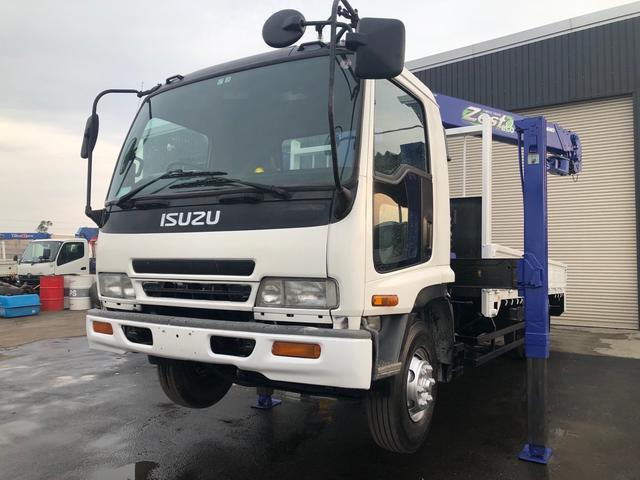 いすゞ 2.3t積ロング タダノ4段ラジコンロングジャッキ