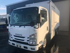 エルフトラック2t積 ロング サイドステップ付パネルバン 4WD