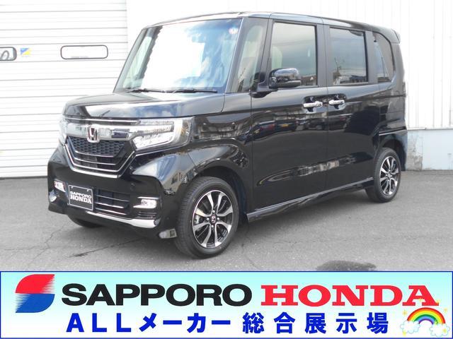 ホンダ N-BOXカスタム G・Lホンダセンシング 4WD 純正ナビ リヤカメラ
