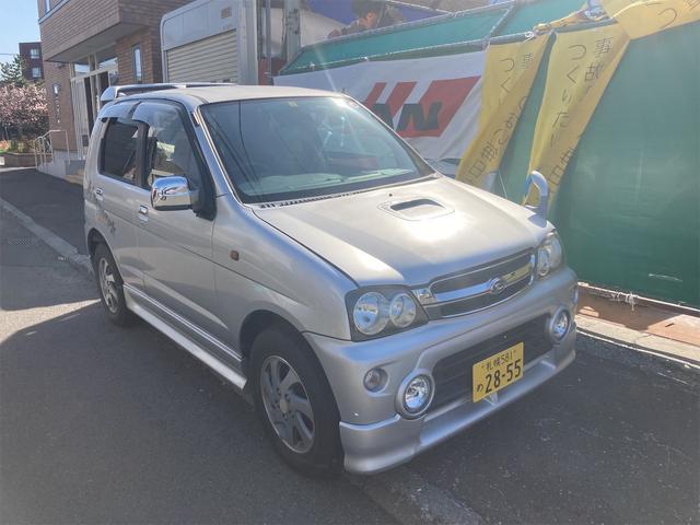 ダイハツ キスマークX 4WD キーレス ターボ ABS