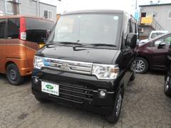 ミニキャブバンブラボー ターボ車 4WD ナビ フルセグTV 営業ナンバー取得可