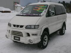 デリカスペースギアシャモニー 4WD リフトアップ ヒッチ付き