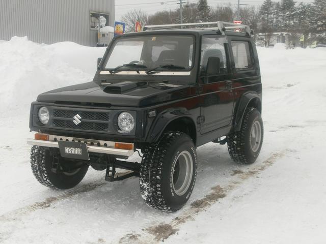 スズキ ジムニー HC リフトUP オーバーフェンダー 4WD
