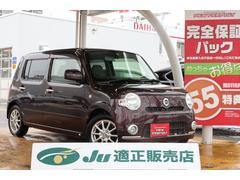 ミラココアココアX 4WD スマートキー 社外SDナビ 夏冬タイヤ付