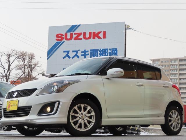 スズキ RS-DJE 4WD ナビTV 冬タイヤ バイザー HID
