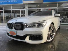 BMW740i Mスポーツ 1オーナー ナビ サンルーフ 革シート
