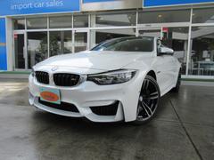 BMWM4クーペ LCI 1オーナー Mドライブ ナビ 19AW