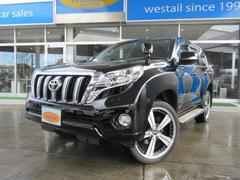 ランドクルーザープラドTX 軽油 1オーナー サンルーフ ナビ 地デジ 4WD