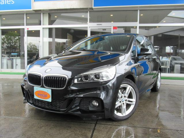 BMW 218d xDriveアクティブツアラーMスポ1オーナ4WD