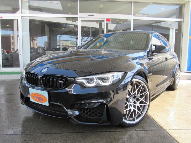 BMW M3セダン コンペティション 1オーナ LED ナビ 地デジ