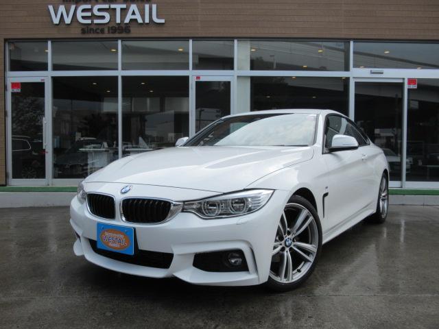 BMW 420iクーペ Mスポーツ インテリジェントセーフティ レーンディパーチャーワーニング 19インチアルミホイール HDDナビ ミュージックコレクション CD/DVD アイドリングストップ クルーズコントロール バックカメラ