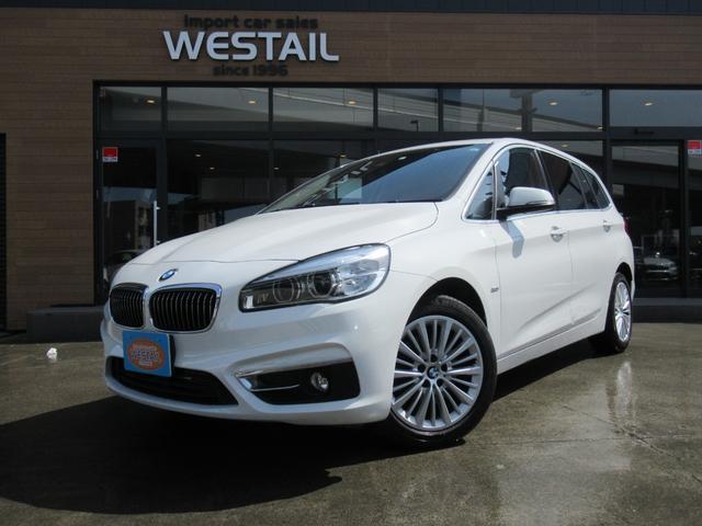 BMW 218d xDriveグランツアラー ラグジュアリー 4WD ディーゼル 3列シート 本革シート シートヒーター パワーシート LEDヘッドライト パワーバックゲート インテリジェントセーフティ コンフォートアクセス ドライブレコーダー ETC