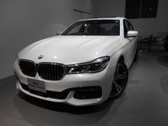 BMW740i Mスポーツ モカレザー20アロイサンルーフ