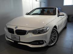 BMW435iカブリオレ ラグジュアリー サドルレザー19アロイ