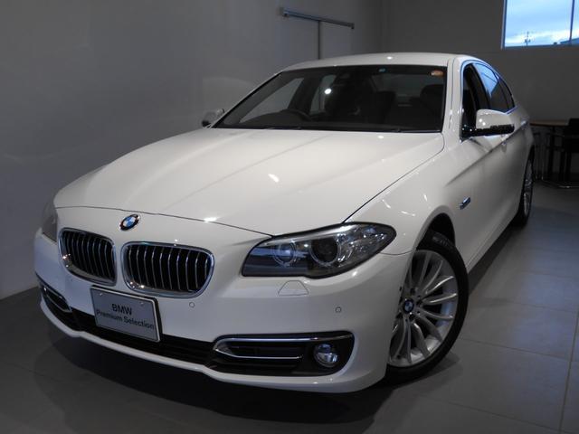 BMW 523iラグジュアリー レザーパーキングサポート 2年保証