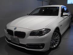 BMW523d ラグジュアリー レザー ワンオーナー 2年保証