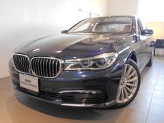 BMW750i デモカー レザー サンルーフ2年保証