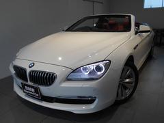 BMW640iカブリオレ コンフォートPレッドレザー ワンオーナー