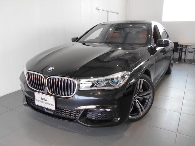 BMW 740dxDriveMスポーツ4WDコニャックレザーSR