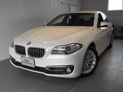 BMW523iラグジュアリー レザー パーキングサポート 2年保証