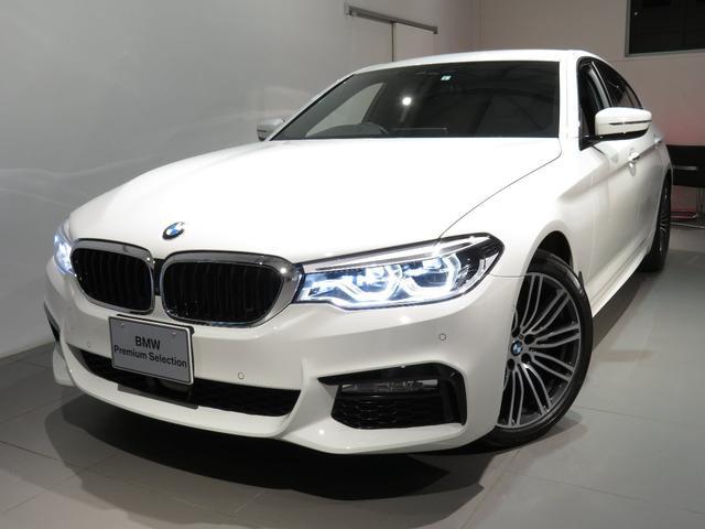 BMW 523d Mスポーツ 認定中古車 ワンオーナー ハイラインP 2年保証 ブラックレザー F、Rシートヒーター
