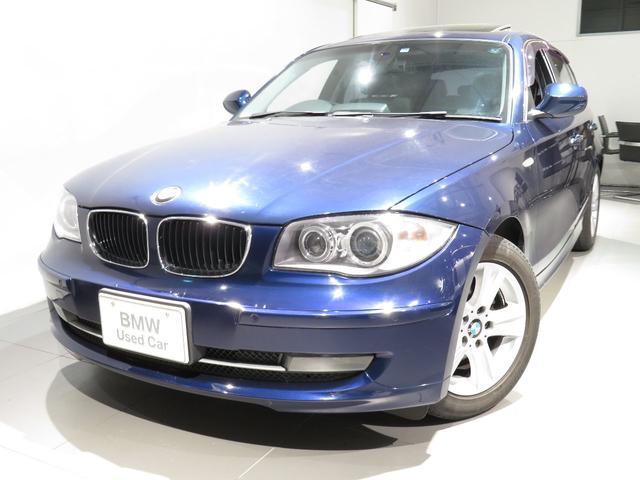 BMW 120i ハイラインパッケージ ハイラインP レザーシート シートヒーター iドライブナビゲーション 前後PDCセンサー ガラスサンルーフ 後付バックカメラ