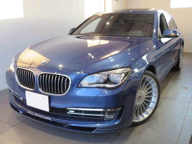 BMWアルピナ ビターボ リムジンオールラッド 保証無 アルピナB7 オールラッド4WD アルピナブルーメタリック 左ハンドル オートトランク 4400ccV8エンジン ガラスサンルーフ ソフトクローズドア 21インチアロイホイール