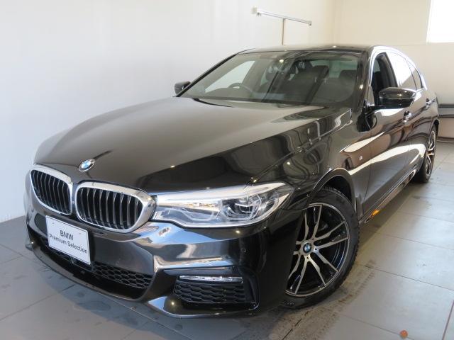 BMW 5シリーズ 523d Mスポーツ 認定中古車 2年保証 ワンオーナー Mスポーツ イノベーションパッケージ ディスプレイキー リモートパーキング ジェスチャーコントロール ヘッドアップディスプレイ