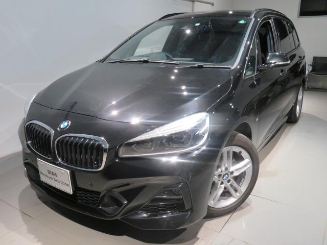 BMW 218d xDriveグランツアラー Mスポーツ 認定中古車 2年保証 Mスポーツ コンフォートパッケージ 7人乗り三列シート クリーンディーゼル xDrive セーフティパッケージ シートヒーター 純正アロイ夏タイヤセット有