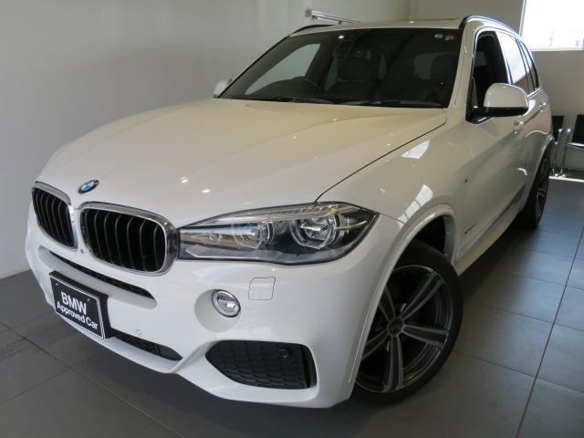 BMW xDrive 35d Mスポーツ 認定中古車 1年保証 セレクトパッケージ パノラマガラスサンルーフ ソフトクローズドア リヤシートヒーター LEDヘッドライト クルーズコントロール クリーンディーゼル スタッドレスタイヤ有