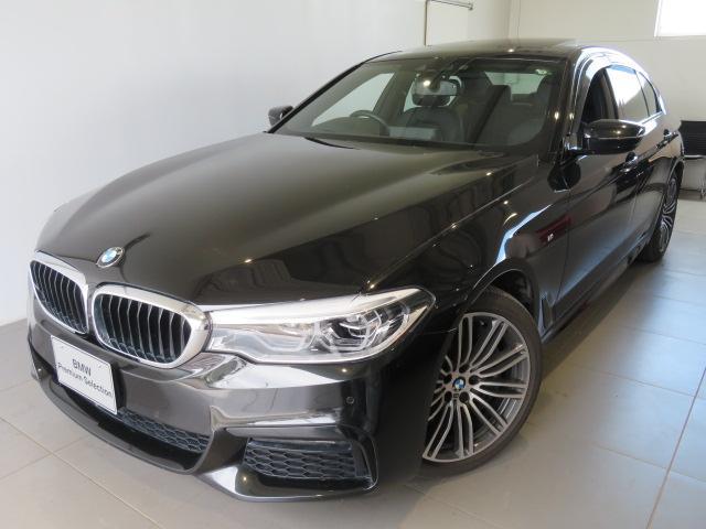 BMW 540i xDrive Mスポーツ 認定中古車 2年保証 ワンオーナー xDrive セレクトパッケージ ガラスサンルーフ リヤシートヒーター ヘッドアップディスプレイ 直列6気筒3000ccエンジン 純正19インチアロイホイール