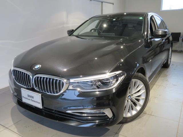 BMW 523iラグジュアリー 認定中古車 2年保証 ラグジュアリー コンフォートパッケージ マッサージシート シートヒーター シートヒーターエアコン リヤシートヒーター アクティブクルーズコントロール 2000ccガソリンエンジン