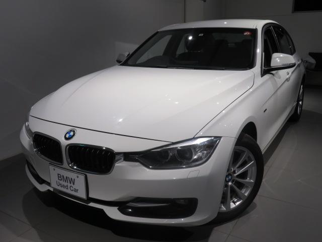 BMW 320i スポーツ 認定中古車 ワンオーナー スポーツ FRモデル スタッドレスホイールセット有