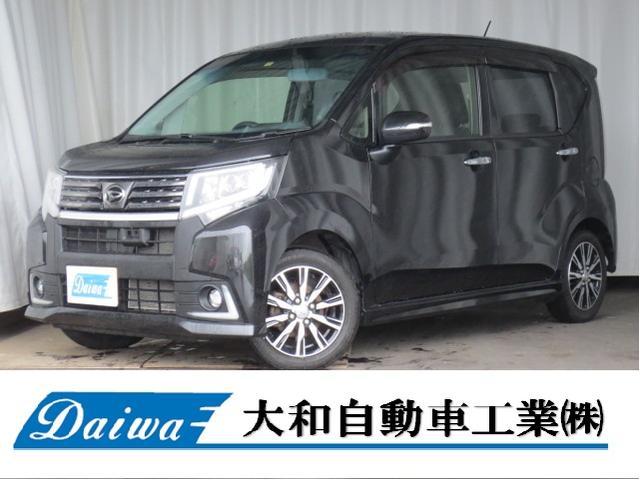 ダイハツ カスタム X ハイパーSA 4WD ETC ナビTV