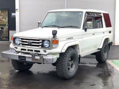 ランドクルーザー70ZX 4WD ディーゼル デフロック サンルーフ