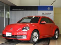 VW ザ・ビートルデザインレザーパッケージ 1オーナー 純正SDナビDTV