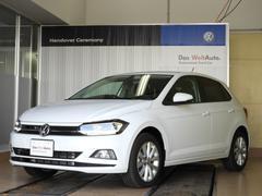 VW ポロTSIハイライン 登録済未使用車 DiscoverPro