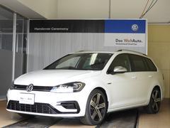 VW ゴルフRヴァリアントLED 黒P革 DiscoverPro Aクルコン 18AW