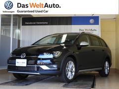 VW ゴルフオールトラックTSI 4MOTION DemoCar Dプロ DTV