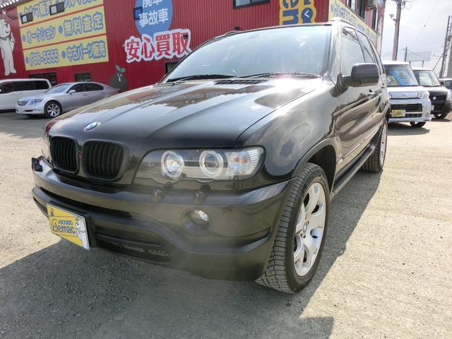 BMW 4.4i 4WD レザーシート S/R ETC