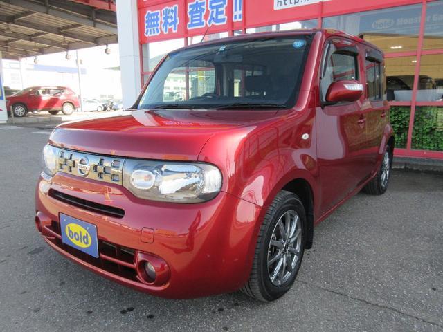 日産 キューブ 15X FOUR Vセレクション 4WD ナビ・TV ETC