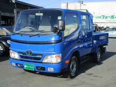 ダイナトラック3.0ディーゼルターボ Wキャブ 外装仕上済 リヤヒーター
